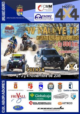 IV RALLY TT. CAMPEONATO DE RALLYES TT EN CASTILLA LA MANCHA