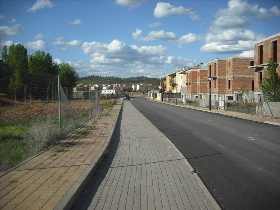 Pavimentación de diversas calles